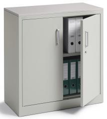 Draaideurkast BASE LINE lichtgrijs RAL 7035 | 800 | lichtgrijs RAL 7035 | 845 mm (2 OH)