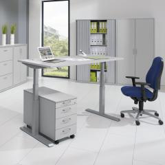 Zit-/stabureautafel Comfort elektrom. hoogteverstelbaar