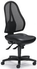 Bureaustoel COMFORT NET SOFTEX zonder armleggers