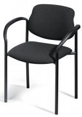 Bezoekersstoel FLORA met armleggers