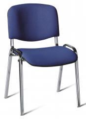 Bezoekersstoel ISO DELTA1 - onderstel verchroomd