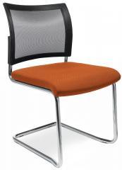 Bezoekersstoel LAS VEGAS met sledeonderstel