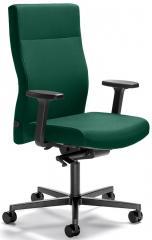 Bureaustoel winSIT zonder arml. voet zwart, tegendrukaanpassing