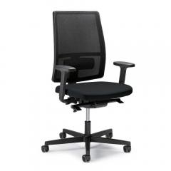 Bureaustoel ecoSIT zonder armleggers, rug netweefsel