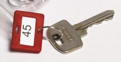 Losse sleutelhangers in een kleur
