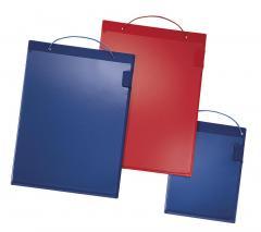 Werkordermap DIN A4 rood | incl. klittenband und vaste folie