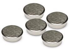 Verchroomde magneten, rond