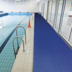 Anti-slip vloermatten met drainage