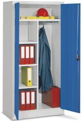 Garderobekast voor de werkplaats