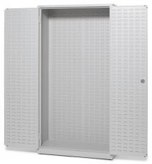 Grote kast WS PROFI SYSTEM lichtgrijs RAL 7035 | Werkplaatskast zonder magazijnbakjes