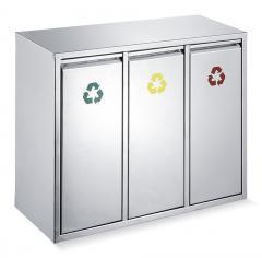 Afval-sorteerstation