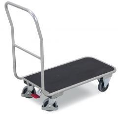 Aluminium plateauwagen