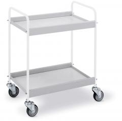 Tafelwagen met 4 zwenkwielen