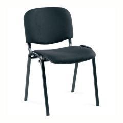 Bezoekersstoelen ISO - onderstel zwart