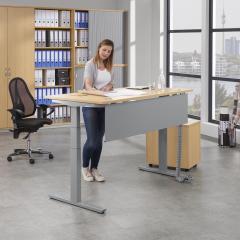 Zit-/sta bureautafels PROFI MODUL - hoogte 650-1250 mm