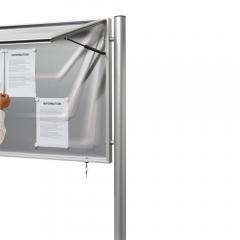 Aluminium paal, ronde buis zum Einbetonieren | Rundrohr