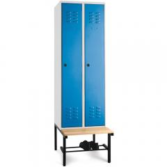 Garderobekasten BASIC - met voorgebouwde zitbank