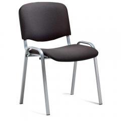 Bezoekersstoel ISO DELTA1 - onderstel aluzilver