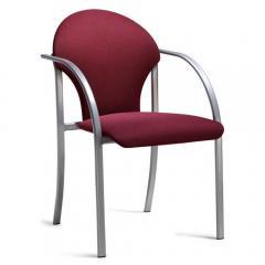 Bezoekersstoel PIENO D1 - stoff DELTA1