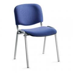 Bezoekersstoelen ISO - onderstel aluzilver