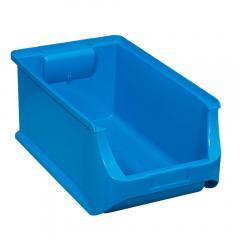 Magazijnbakje blauw | buitenmaten B 205 x D 355 x H 150 mm