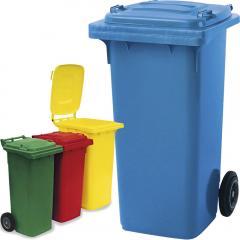 Grote afval tonnen