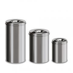 Zelfdovende afvalcontainer