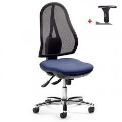 Bureaustoel COMFORT NET DELUXE zonder armleggers