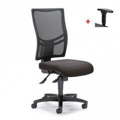 Bureaustoel COMFORT R NET BIG zonder armleggers