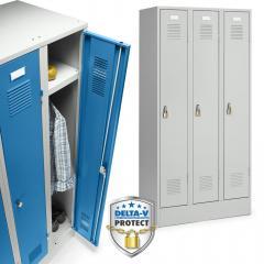 Garderobekasten metaal serie DELTA PROTECT