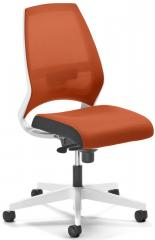 Bureaustoel CONTRADA zonder armleggers oranje/oranje