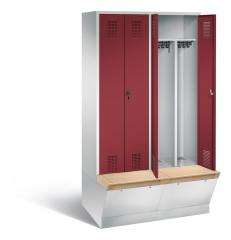 Garderobekasten met onderbouw opbergbox SERIE EVOLO