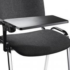 Schrijftablet voor bezoekersstoel ISO für Rechtshänder