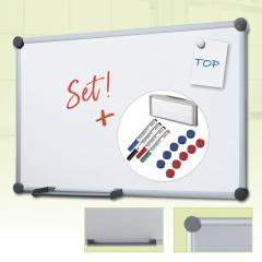 SET-aanbieding whiteboard EXZENTER staalplaat