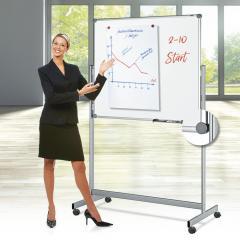 Mobiel whiteboard, incl. accessoire-set