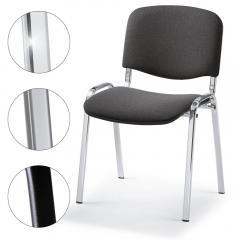 Bezoekersstoel ISO - stof basic c, 3 ondersteelkleur