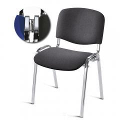 Bezoekersstoel ISO CLICK, ondersteel chroom