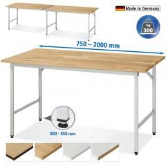 Universele werktafels VK 3060 - draagkracht 300 kg
