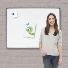 Witbord en prikbord GreenPlanet