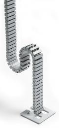 Kabelslurf aluzilver RAL 9006