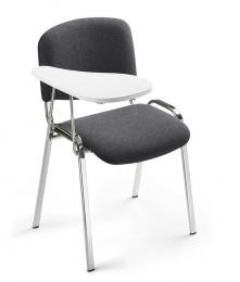 Schrijftablet voor bezoekersstoelen ISO, 4 poten