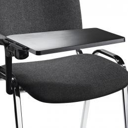 Schrijftablet voor bezoekersstoel ISO voor rechtshandigen