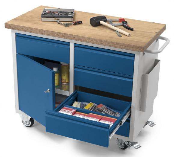 Materiaalwagen/mobiele werkbanken WS PROFI SYSTEEM