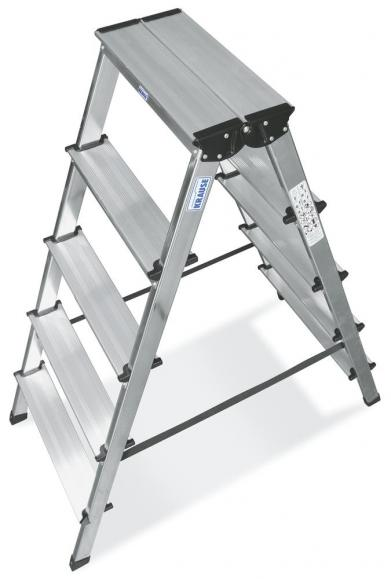 Aluminium ladder dubbelzijdig