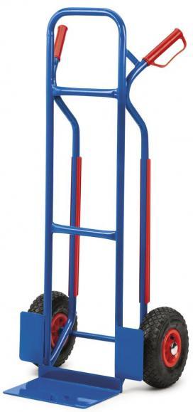 Steekwagen met glijdprofiel Steekwagen met glijsloffen | volledig rubberen banden