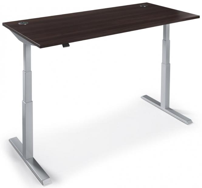 Zit-/sta tafel MANAGEMENT 2 wenge | 1600