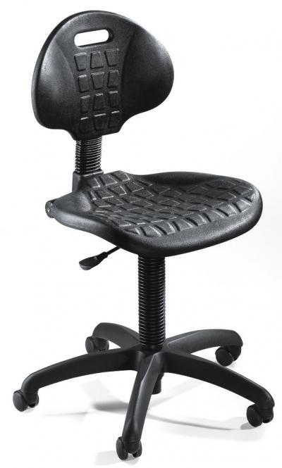 Werkstoel LAVO 10 met wielen voor harde vloer