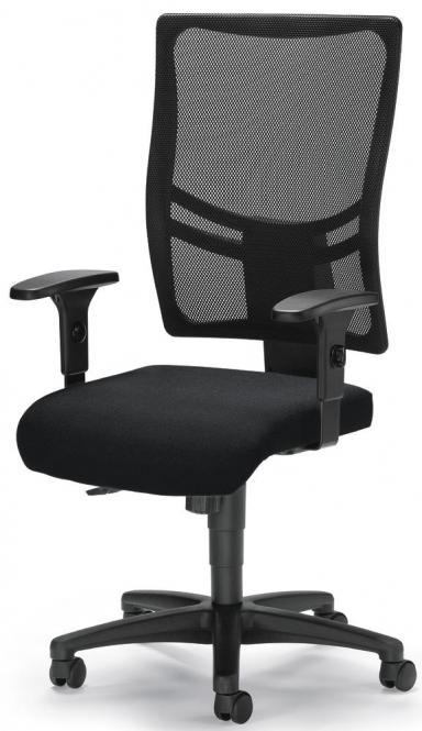 Bureaustoel COMFORT R NET BIG incl. armleggers