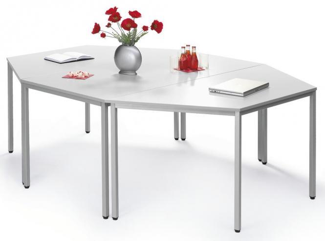 SET-aanbieding - Trapeziumtafel + rechthoekige tafel