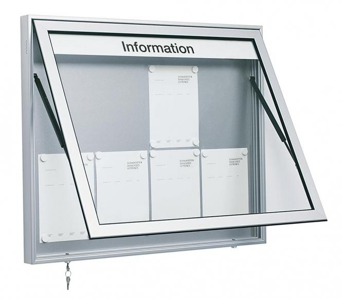 Infokasten voor buitengebruik